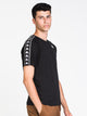 MENS BANDA COEN SLIM SHORT SLEEVET-SHIRT- BLACK