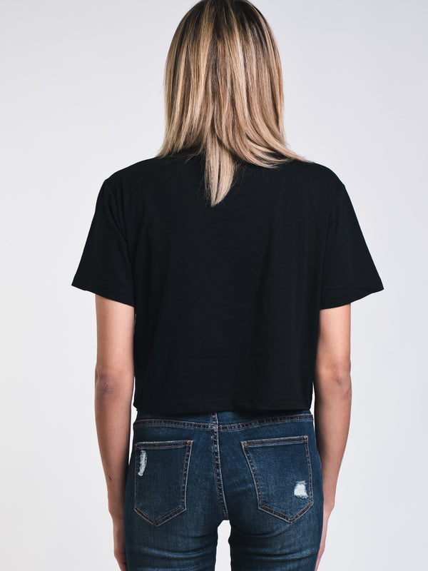 WOMENS AUTHENTIC ZEMIR CROP TEE