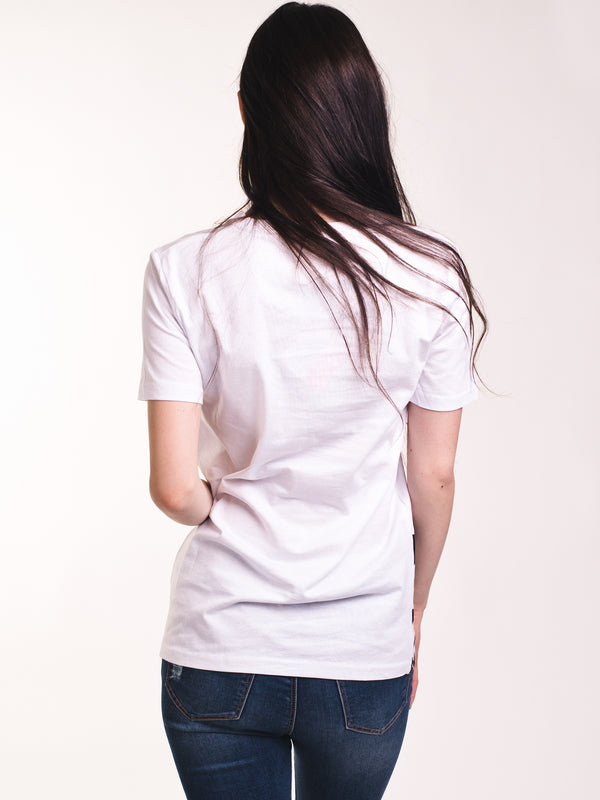 WOMENS AUTHENTIC ZUMER TEE - WHITE