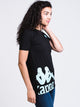 WOMENS AUTHENTIC ZUMER TEE - BLACK