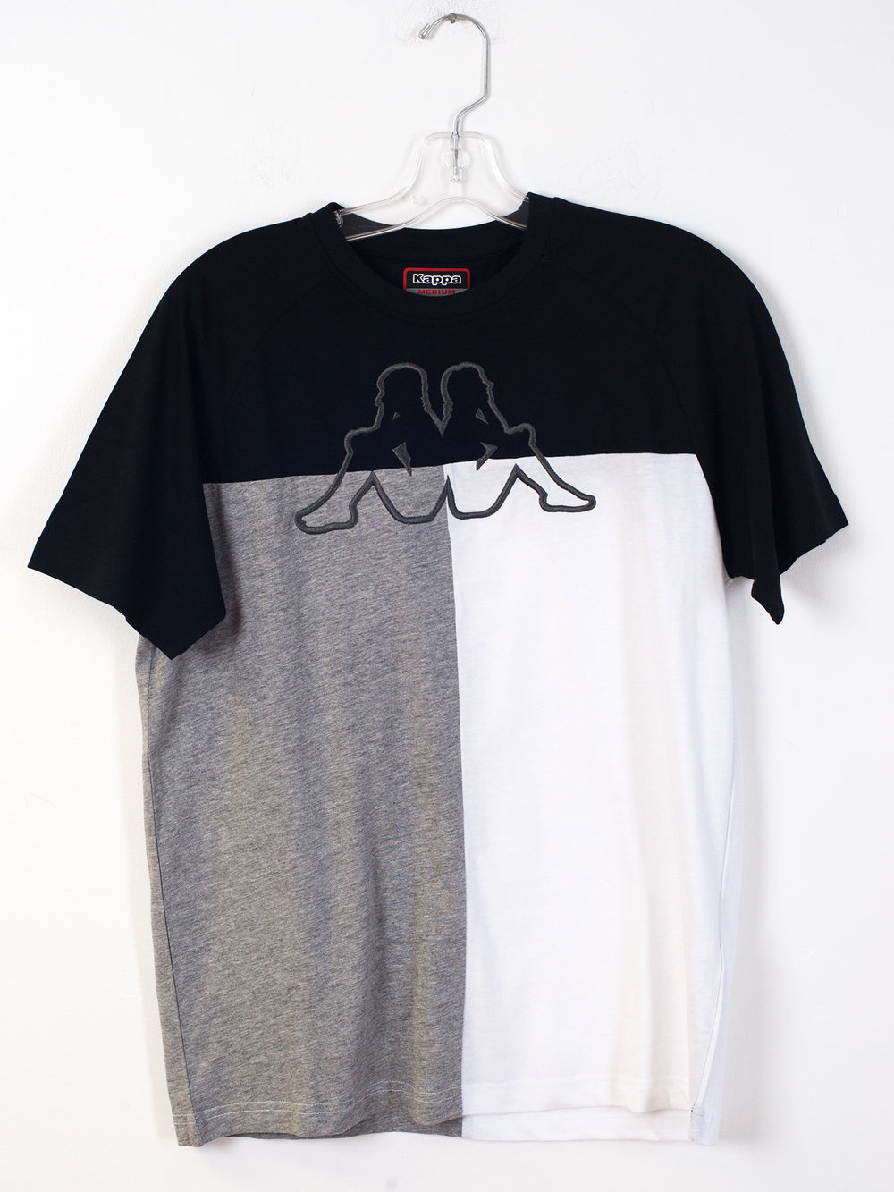 MENS BACUSO LOGO SHORT SLEEVE T-SHIRT- BLACK/GREY