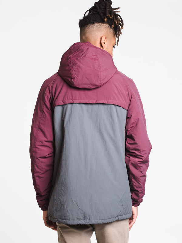 MENS POPOVER PUFFER JACKET
