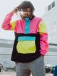 MENS RETRO COLOURBLOCK JACKET