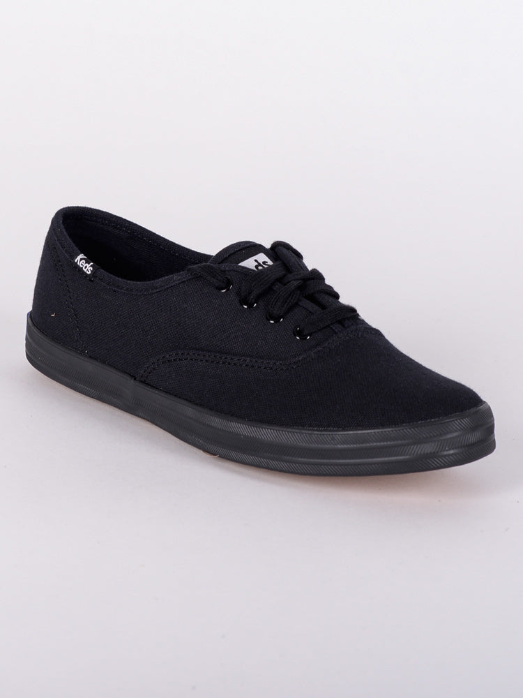 WOMENS CHAMPION CANVAS VULCANIZED OXFORD CANVAS SHOES - CLEARANCE