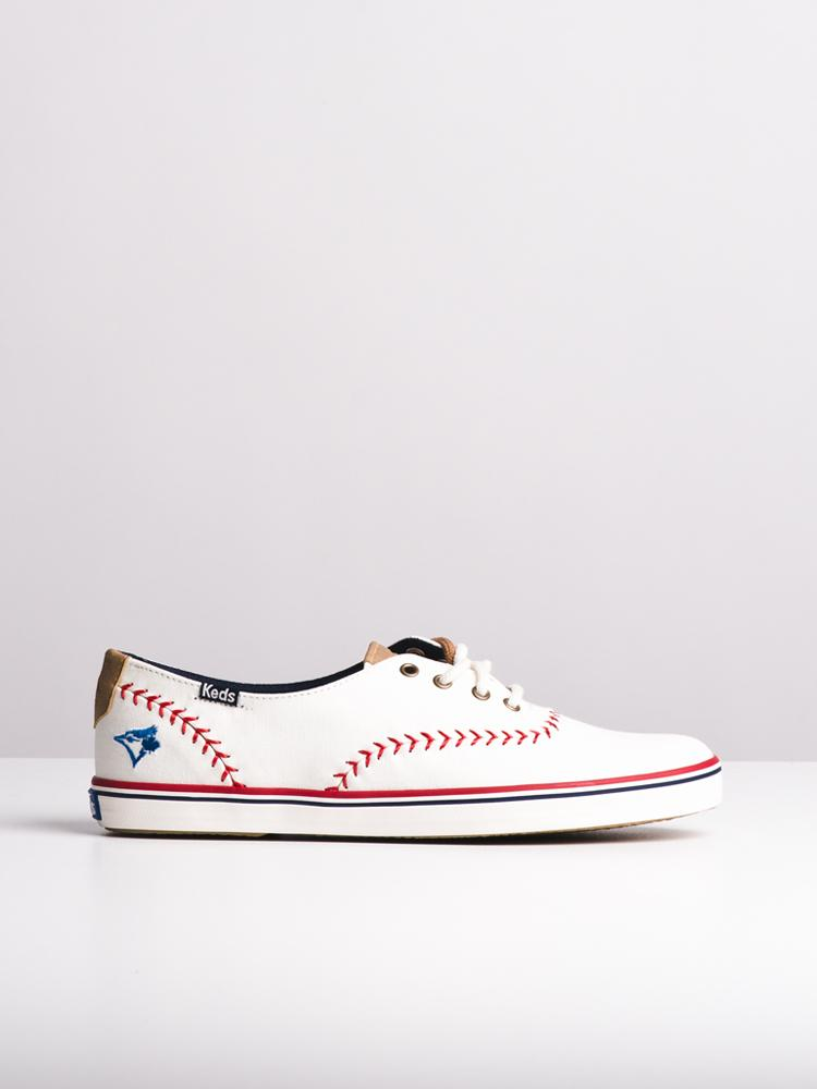 266299a269847 WOMENS CHAMPION PENNANT BLUE JAYS CANVAS SHOES- CLEARANCE