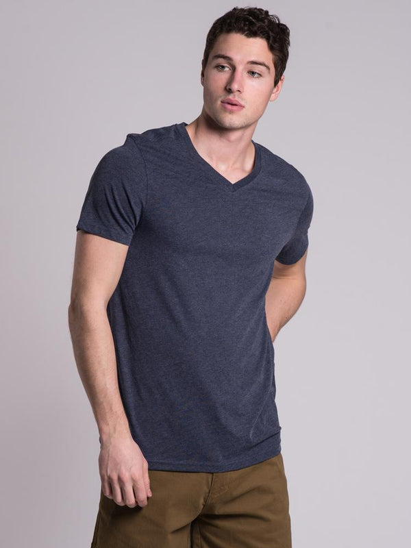 MENS MENS BASIC VNECK