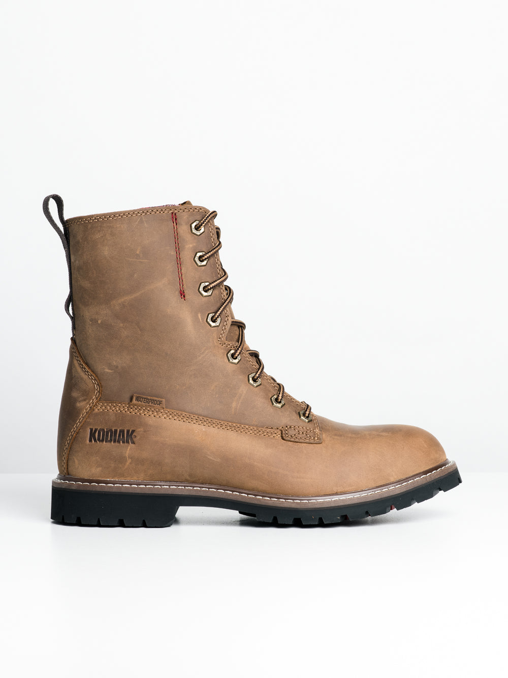 MENS MCKINNEY 8' WP BOOT - BROWN