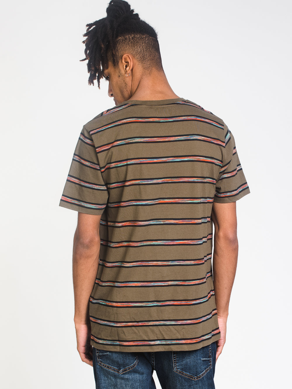 MENS COOKE STRIPE T