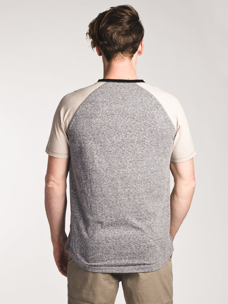 MENS NIXON SEEDED HENLEY- CLEARANCE