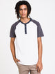 MENS NIXON SEEDED HENLEY - CLEARANCE