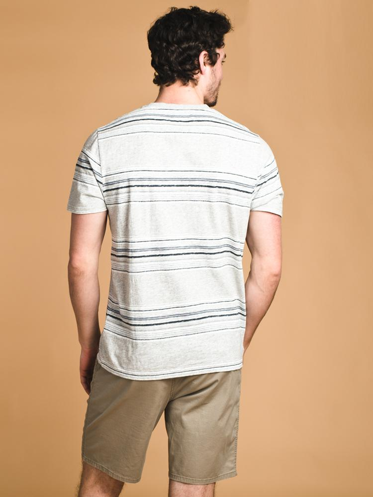 MENS OTIS STRIPE T- CLEARANCE