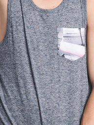 MENS RILEY MELANGE TANK