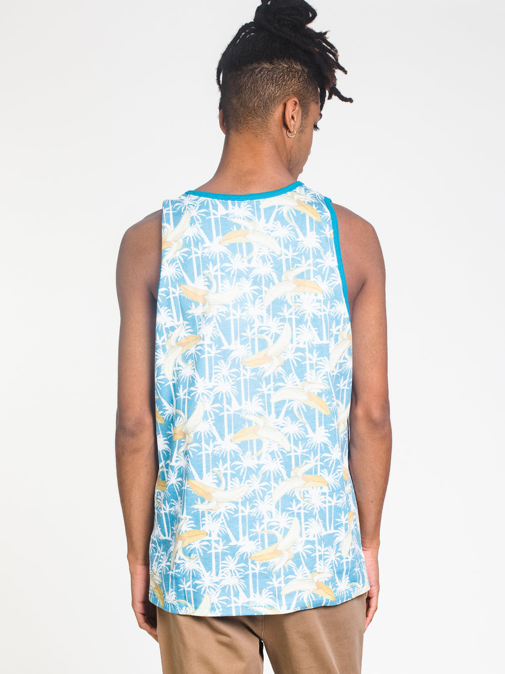 MENS BREAK NOVELTY AOP TANK
