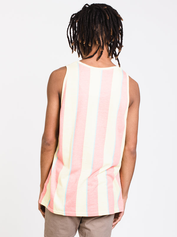 MENS VERTICAL STRIPE TANK