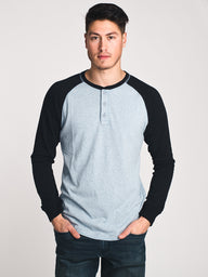 MENS HAL LONG SLEEVE HENLEY