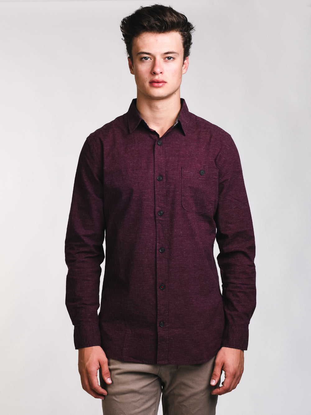 MENS CLASSIC FLEX BUTTONUP - CLEARANCE