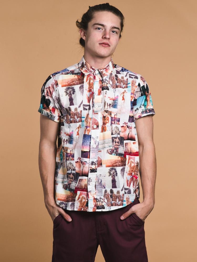 MENS BLISS BUTTONUP- CLEARANCE