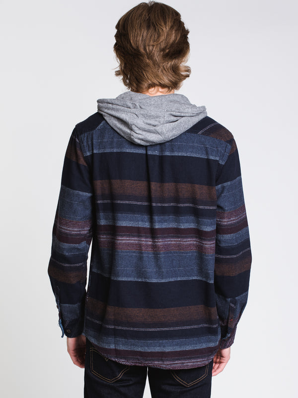 MENS CLASSIC HOODED STRIPE