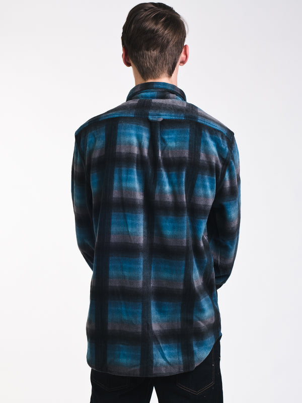 MENS FLANNEL PLAID BUTTONUP