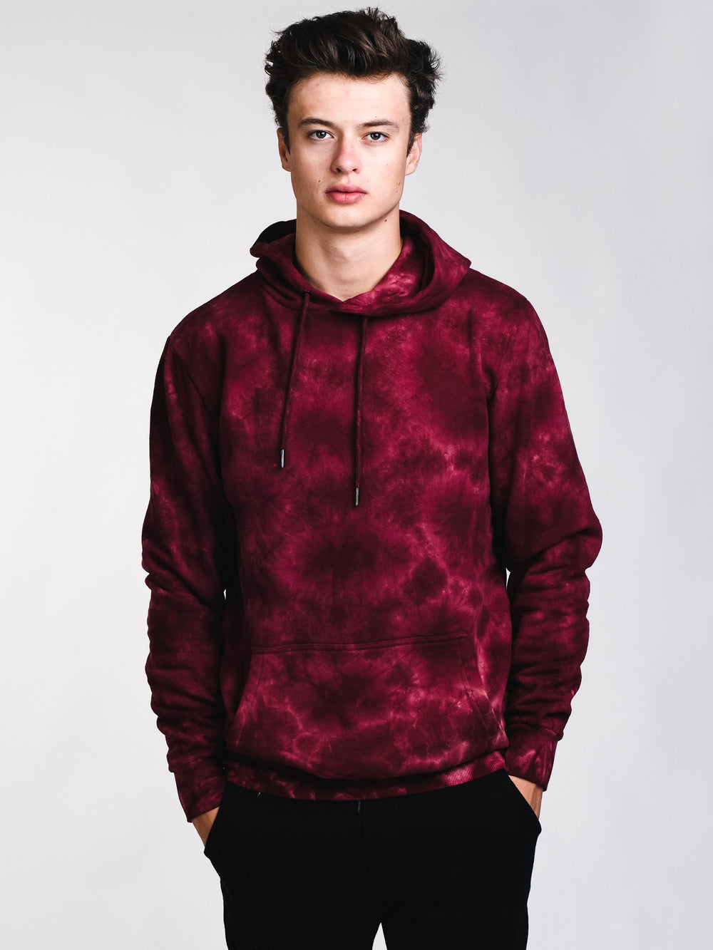 3f0026c5ed55 MENS WASHED OUT TIE DYE HOODIE