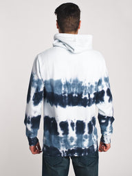 MENS WASHED OUT TIE DYE HOODIE