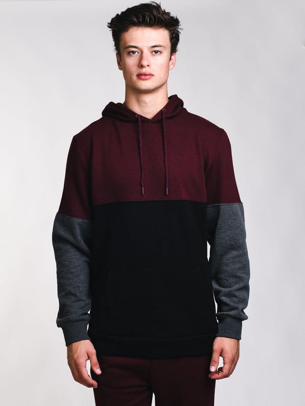 MENS WASHED OUT CLRBLK HOODIE