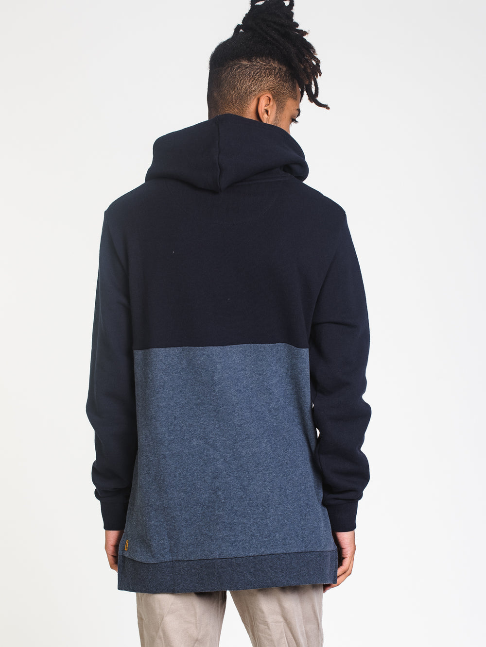 MENS BREW COLOURBLOCK PULLOVER HOODIE