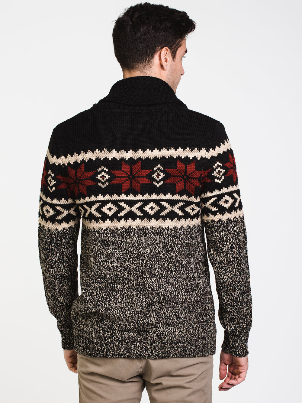 MENS BANFF CARDIGAN