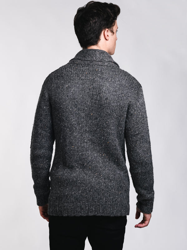 MENS CURTIS CABLE CARDIGAN