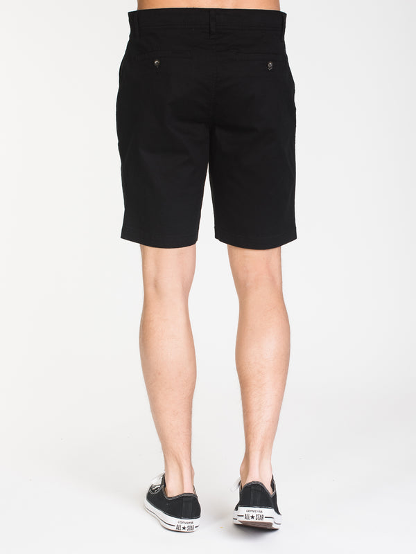 MENS CALEB SLIM SOLID SHORT