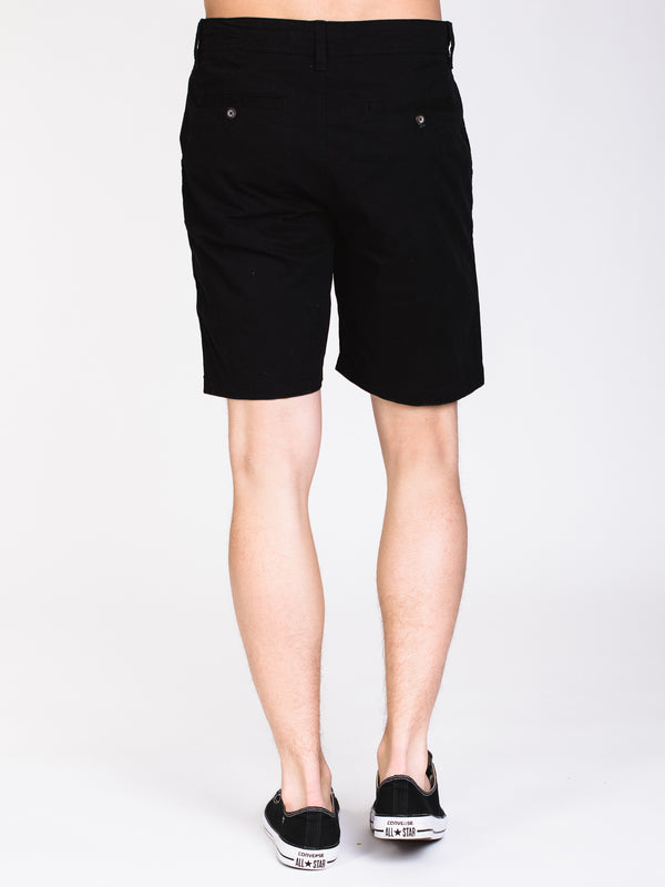 MENS CALEB SLIM SOLID - BLACK