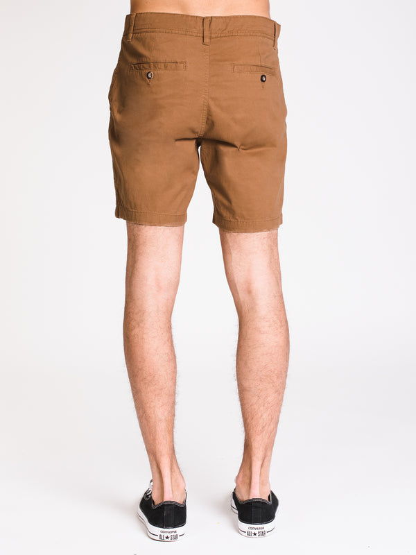 MENS SLOAN 7in SLIM SOLID - FLAX