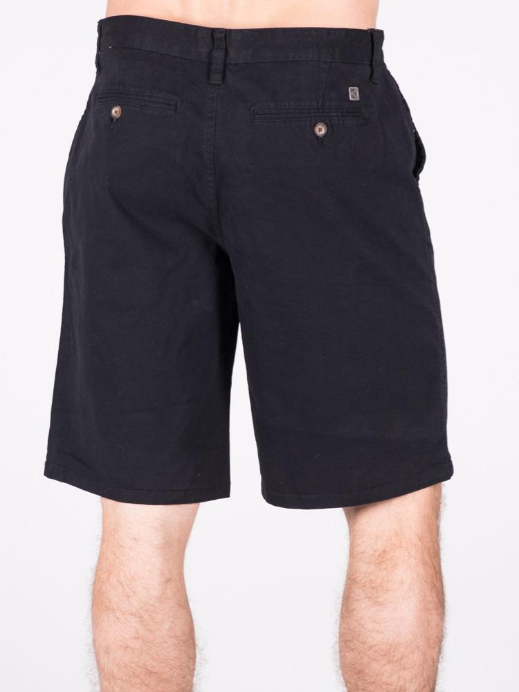 MENS ROWLEY RELAXED - BLACK- CLEARANCE