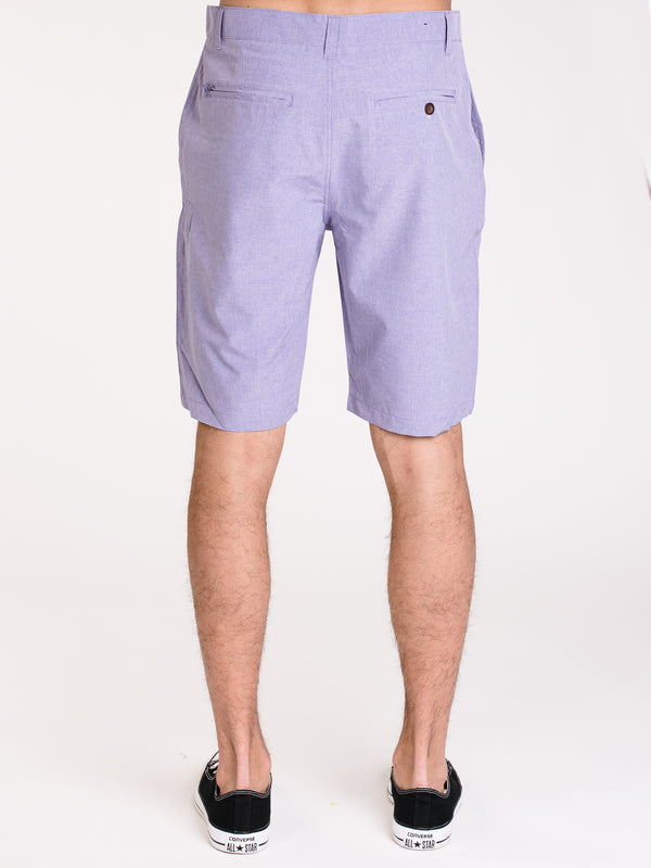 MENS CALEB SLIM HATCHER SHORT