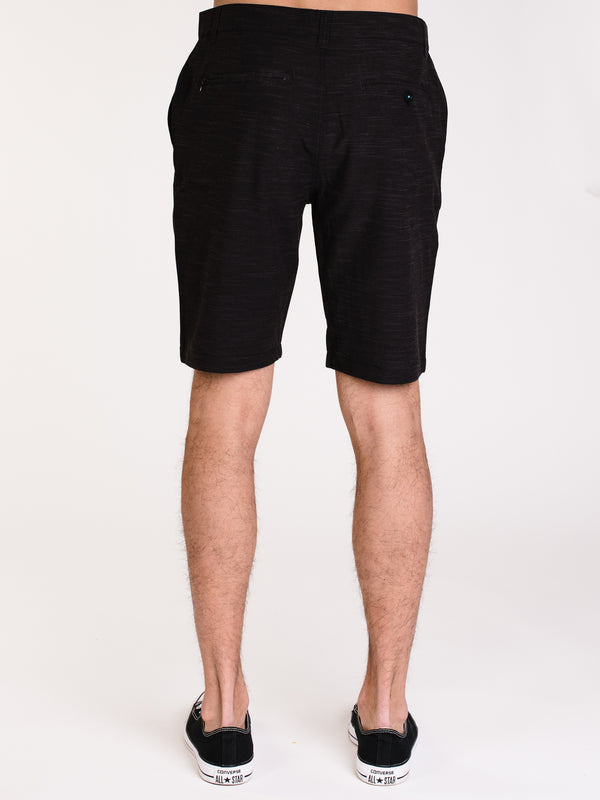 MENS CALEB SLIM SPACE DYE SHORT