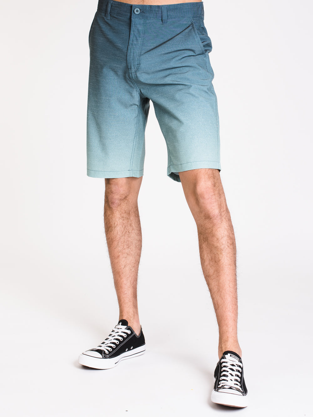 MENS CALEB SLIM OMBRE SHORT - CLEARANCE