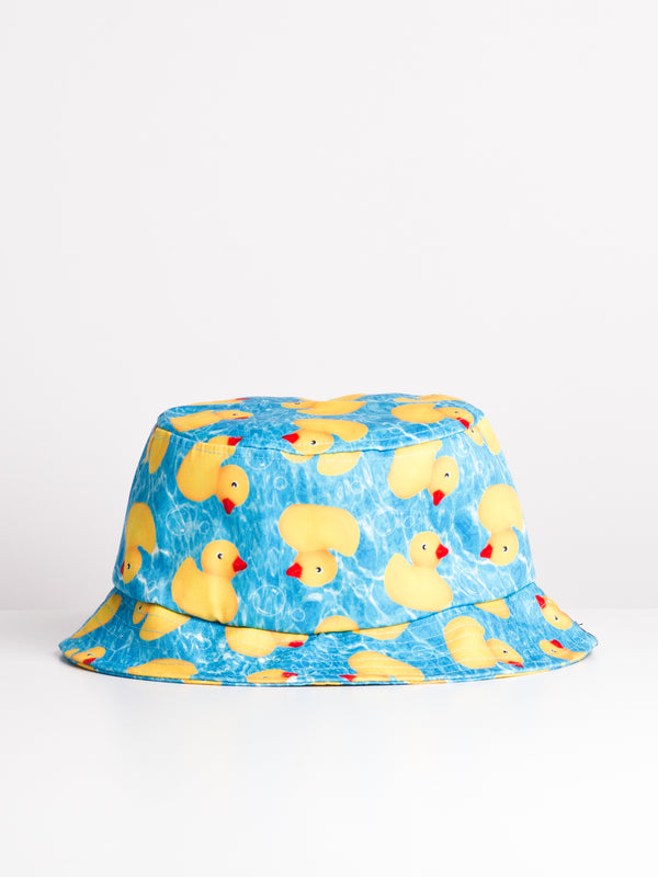 RUBBER DUCKY BUCKET HAT