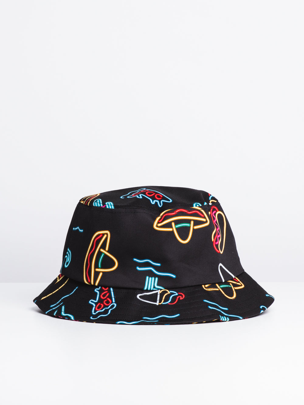 PARTY PRINT HAT - BLACK