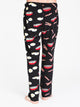MENS PRINTED POLAR PANT - BACON/EGG