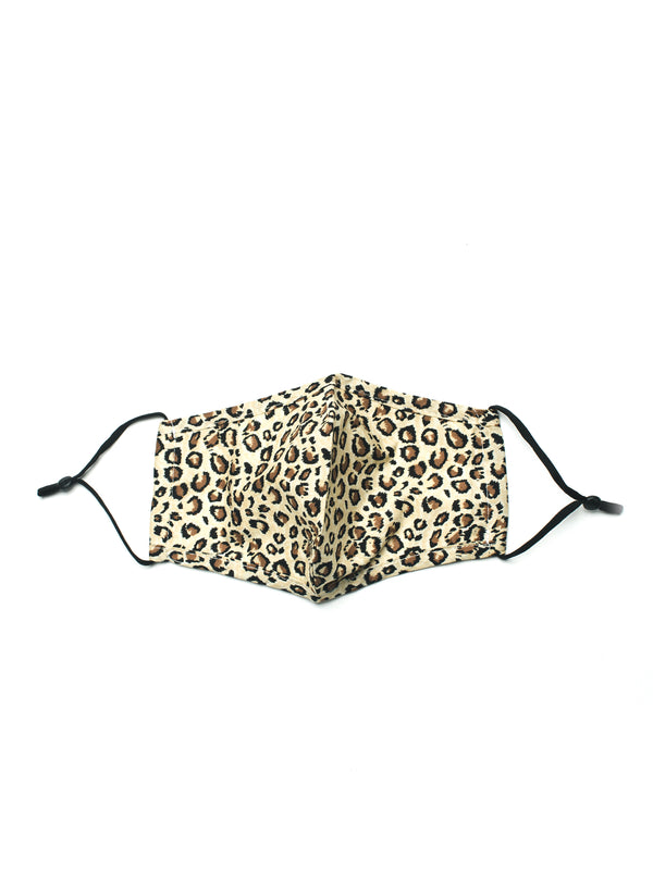 LEOPARD PRINT MASK - LIGHT