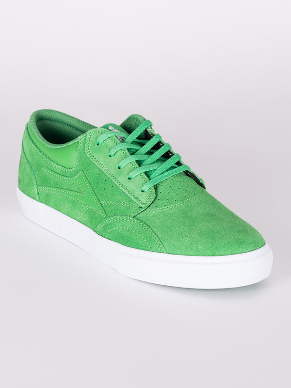 MENS GRIFFIN - GREEN SUEDE - CLEARANCE