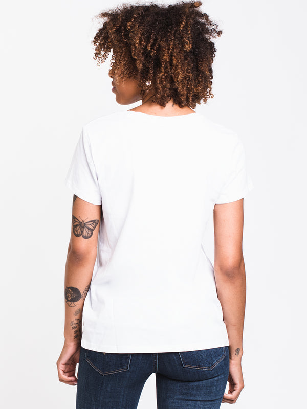 WOMENS THE PERFECT S/S TEE - WHITE