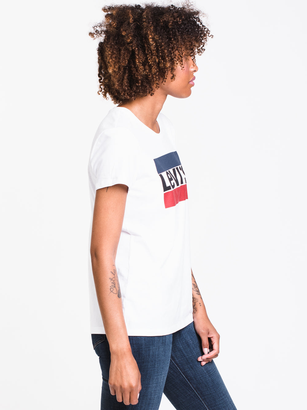 WOMENS THE PERFECT SHORT SLEEVE TEE - WHITE