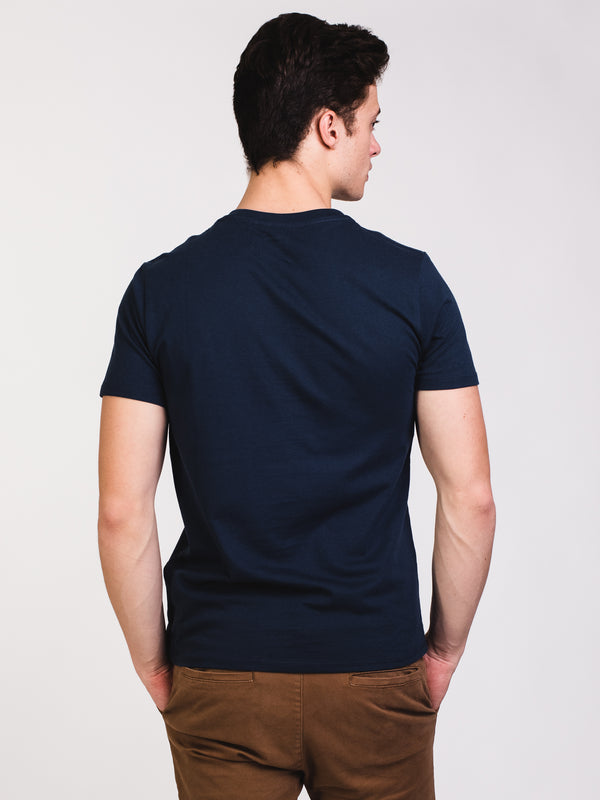 MENS GRAPHIC S/S T - NAVY BLUES
