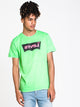 MENS HM SSNL TECH SHORT SLEEVET-SHIRT- NEON GRN