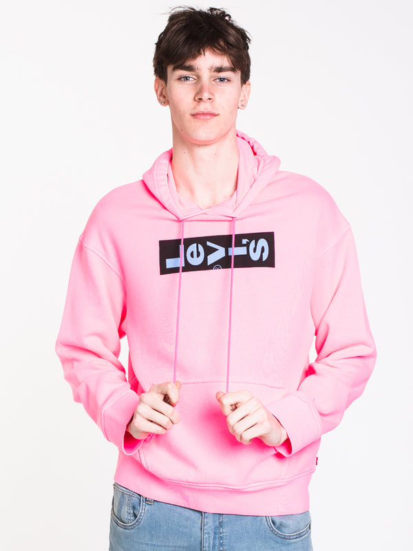 MENS OVERSIZED GRAPIC PULLOVER HOODIE
