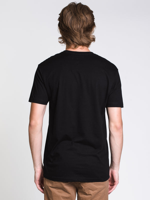 MENS LOGO SHORT SLEEVET-SHIRT- BLACK