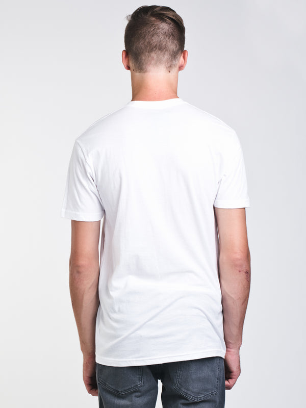 MENS LOGO SHORT SLEEVE T-SHIRT - WHITE