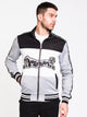 MENS TRI COLOUR KNIT TRACK JKT - CLEARANCE