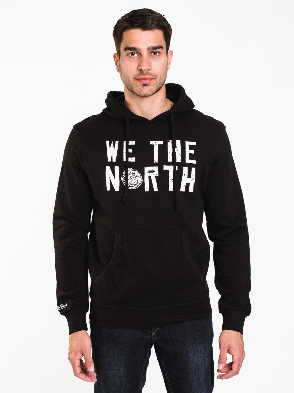 MENS WE THE NORTH PULLOVER HD - BLACK